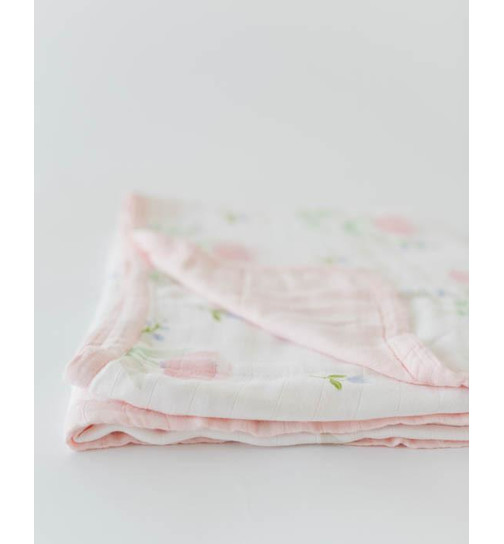 Trapunta Baby Deluxe Pink Peony