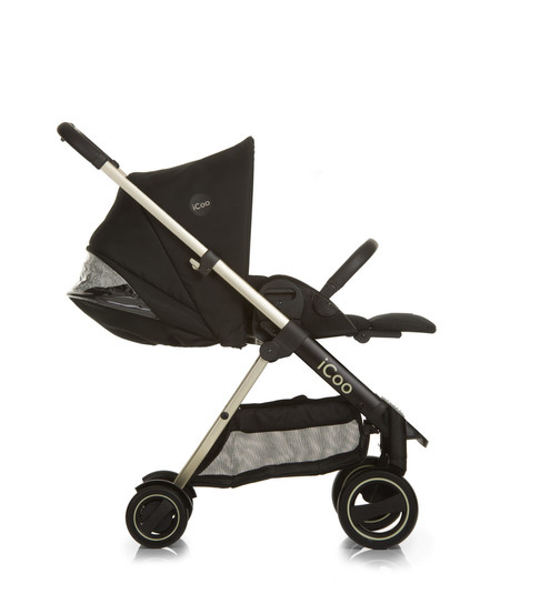 Kinderwagen Acrobat XL Plus Trio Set Diamond Caviar