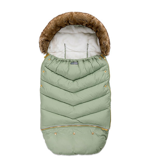 Fusssack Chic Jade Green von Vinter & Bloom