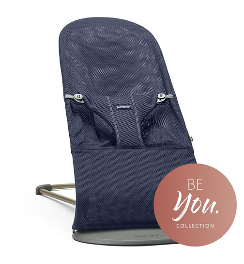 Babywippe Bouncer Bliss Navy blue
